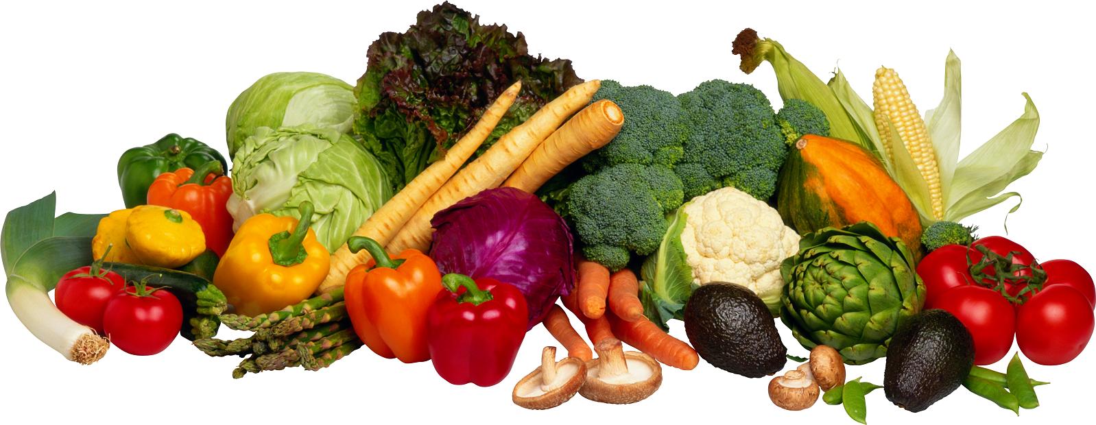Картинка фрукты и овощи на прозрачном фоне